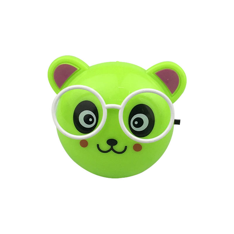 Kids Night light Bear Model LED Mini Lamp 0.5W 110-220V for Bedroom
