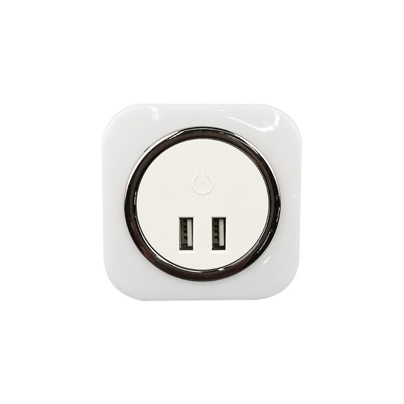 USB Charger LED Night Light Touch Sensor lamp with dimming function Output 5V 2.1A for Mobile Phone iPad PSP ETC