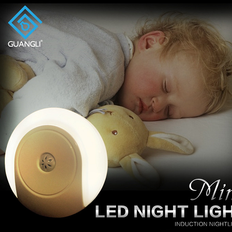 LED sensor night light  Automatic children night light led lamp energy saving for baby rooms bedrooms With nice shape and competitive price