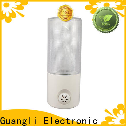 Guangli energy plug in sensor night light suppliers for indoor