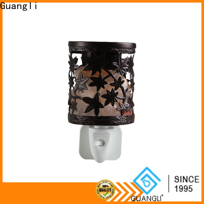 Guangli cover himalayan salt night light suppliers for Air Purifying