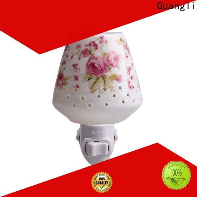 Guangli wall decorative plug in night lights factory for bedroom