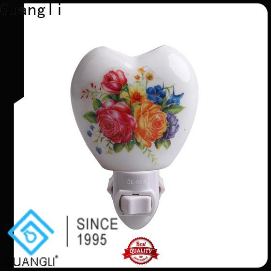 Guangli porcelain decorative plug in night lights manufacturers for bedroom