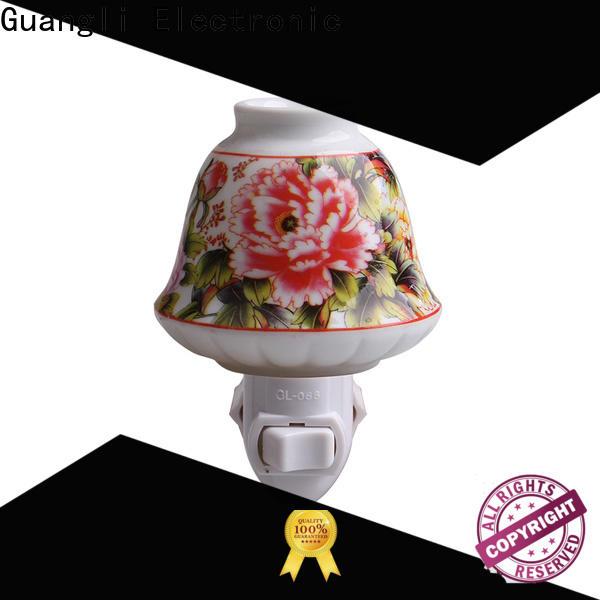 Guangli ceramic decorative night lights factory for bedroom