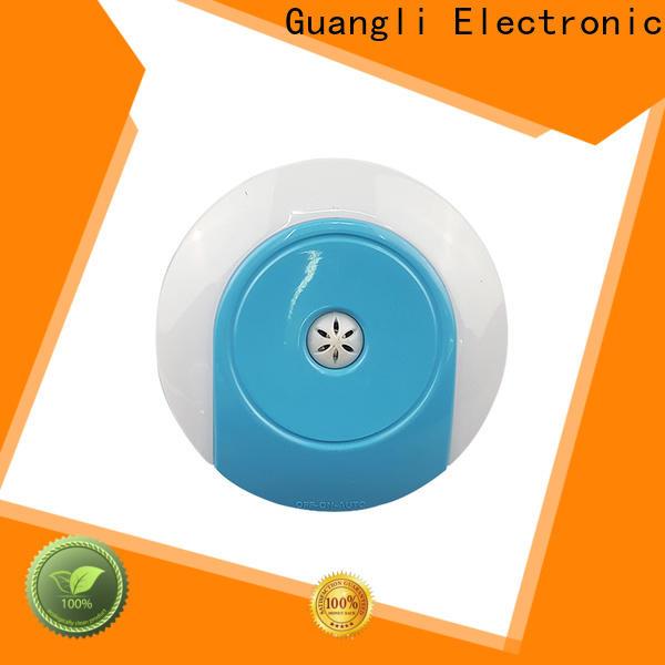 Guangli battery light sensor night light manufacturers for bedroom