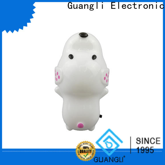 Guangli motorcycle kids plug in night light for sale for home decoration