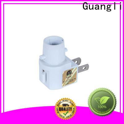 Guangli Custom night lamp socket supply for wall light