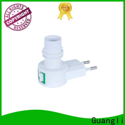 Guangli american night light socket company for stairs