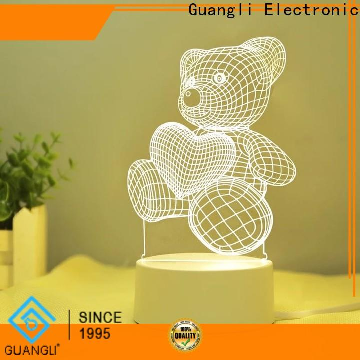 Guangli green decorative plug in night lights company for living room