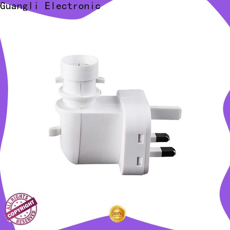 Guangli eu night light base socket supply for stairs