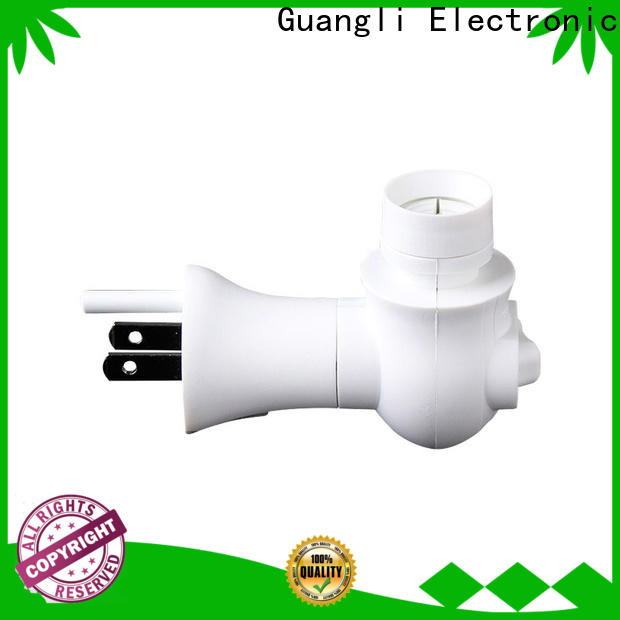Guangli Top night light base socket suppliers for hallway
