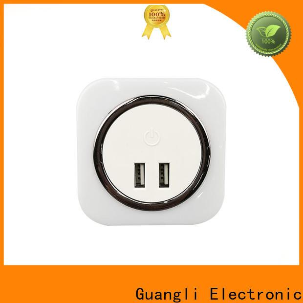 Guangli socket light sensor night light for sale for baby room