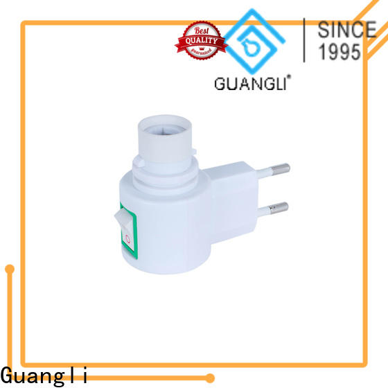 Guangli atmosphere night lamp socket for sale for wall light