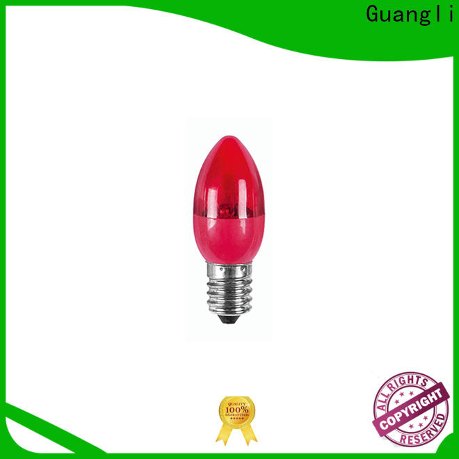 Guangli night electric light bulb for sale for bedroom