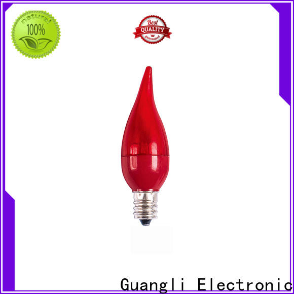Guangli approved electric led bulb supply for garden party