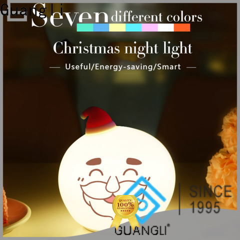 Guangli claus kids portable night light for business for bedroom