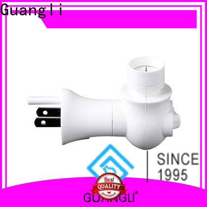 Guangli Top night light base socket supply for wall light