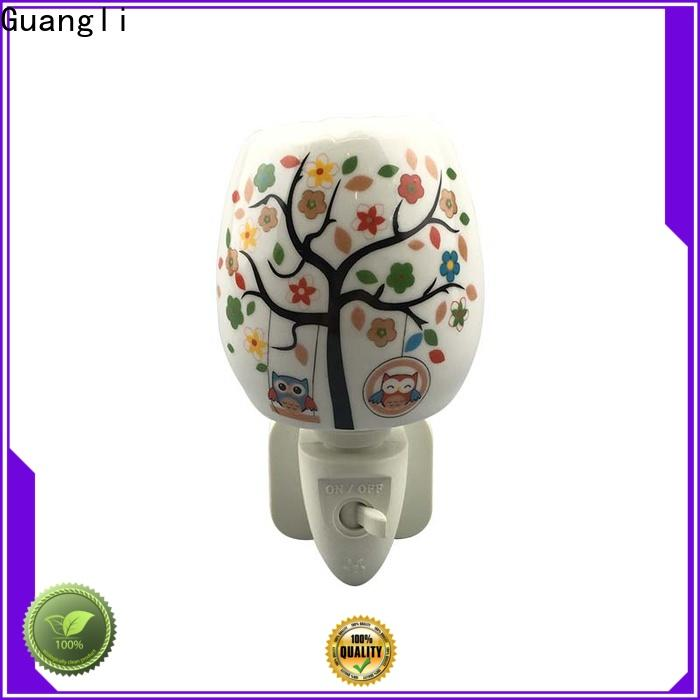 Guangli music decorative plug in night lights suppliers for bedroom