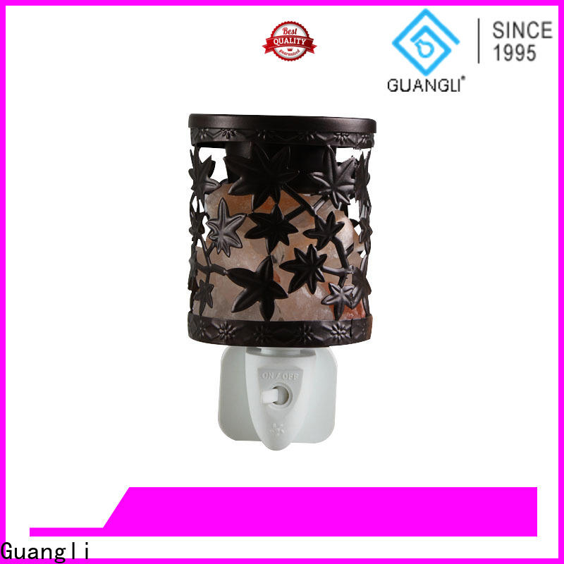 Guangli pattern himalayan night light factory for home decoration