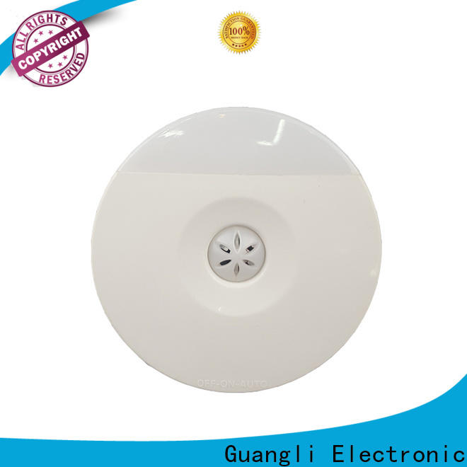 Guangli a54 light sensor night light factory for indoor