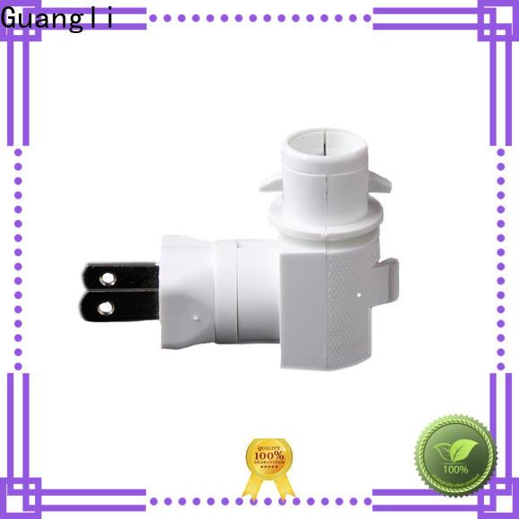 Guangli socket night light socket factory for bedroom