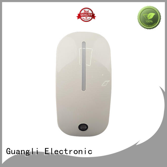 Guangli auto light sensor night light factory direct for baby room