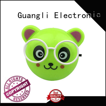 plastic kids night light wholesale for home decoration Guangli