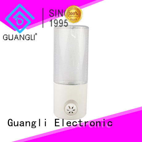 Guangli plug in sensor night light supplier for baby room