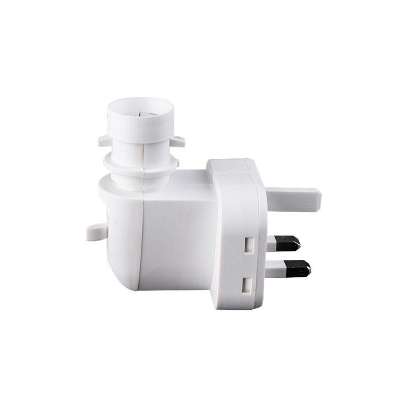 BS Standard Night Light Socket with On/Off Switch for Wall Light