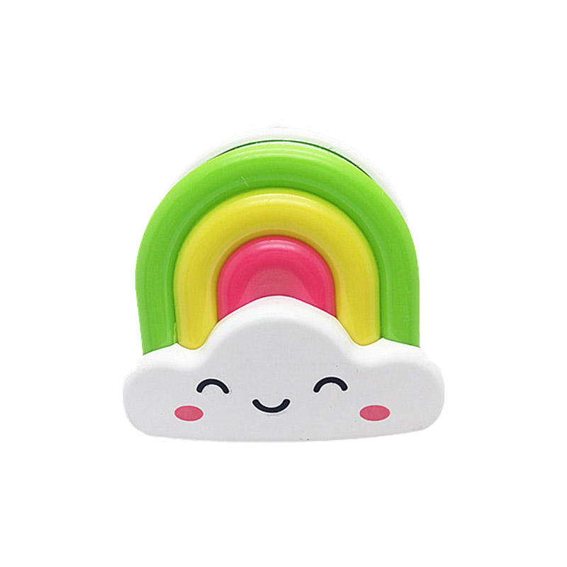 Cartoon Rainbow Baby Wall Night Light 0.5W for Baby Room