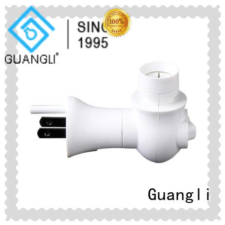Guangli durable swivel night light base customized for bedroom