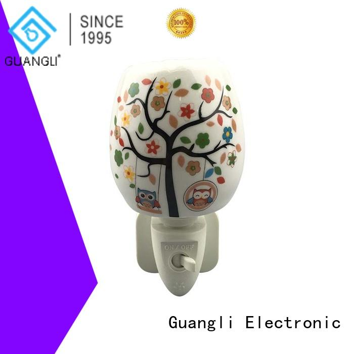 Guangli Latest decorative plug in night lights Suppliers for bathroom