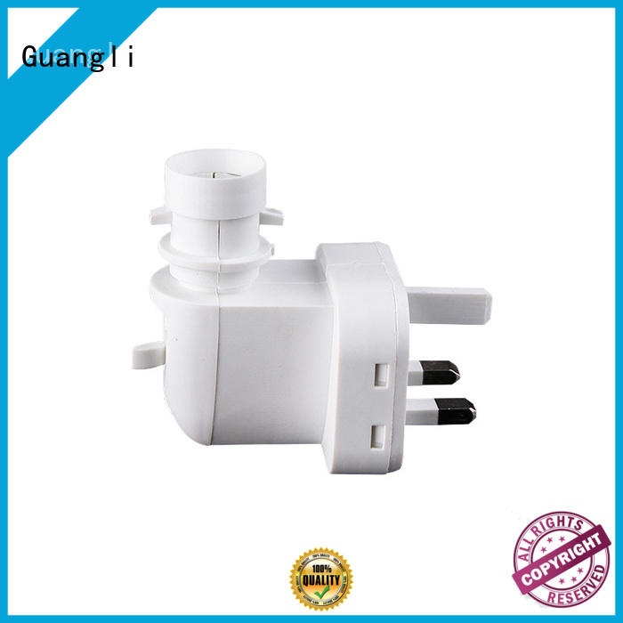 Guangli quality night lamp socket manufacturer for hallway