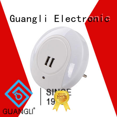 Guangli plug in sensor night light Suppliers for baby room