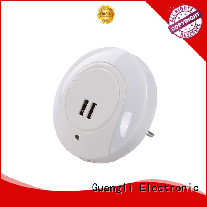Guangli automatic light control night light supplier for living room