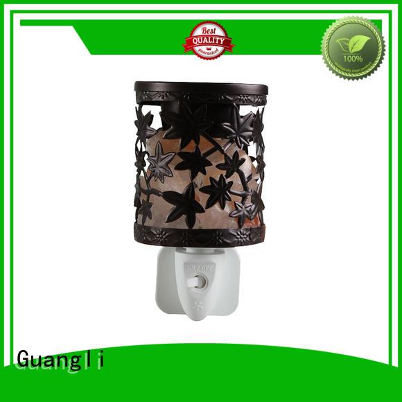 Guangli modern salt lamp night light manufacturer for bedroom
