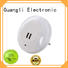 mini plug in motion sensor led light low energy for baby room Guangli