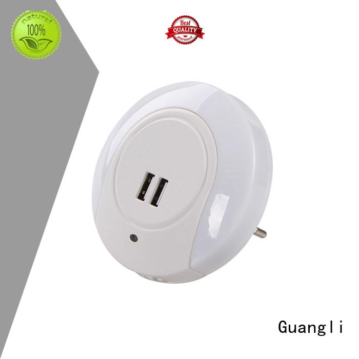 USB Charger Light Control Night Light Output 5V 2.1A for Apple Mobile Phone iPad Android PSP ETC