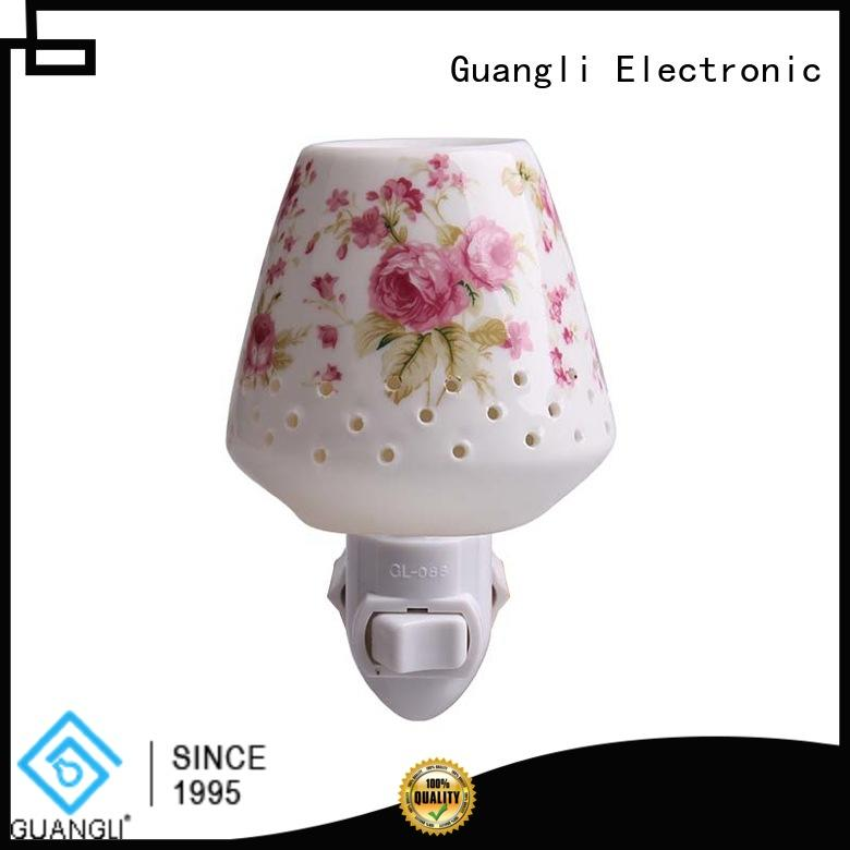 Guangli USB charger wall night light factory price for bathroom