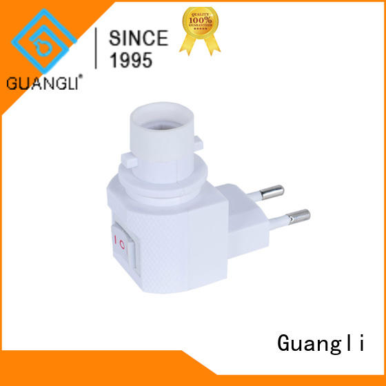 Guangli night light socket with good price for hallway