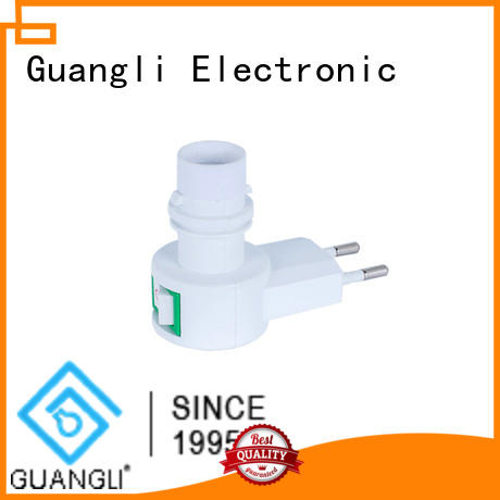 Guangli energy saving night light sockets for hallway