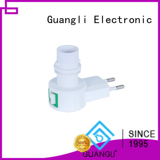 Guangli Custom night lamp socket factory for stairs