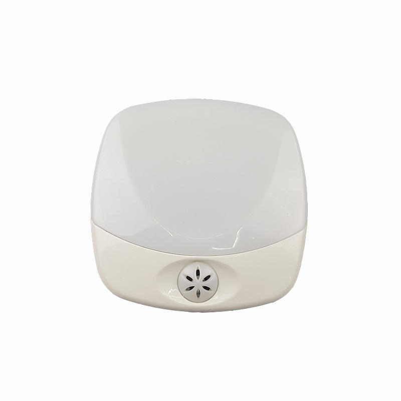 Intelligent sensor baby kids LED Plug in night Light Operated Wall Lamp with Dusk to Dawn EU BS plug OEM