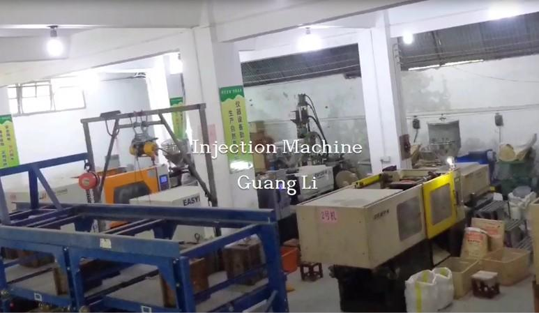 Production Machines in Guangli Electronic Factory
