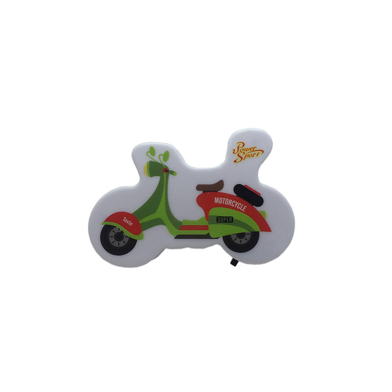 4SMD mini switch plug in motorbike Motorcycle room usege night light For Baby Bedroom cute gift
