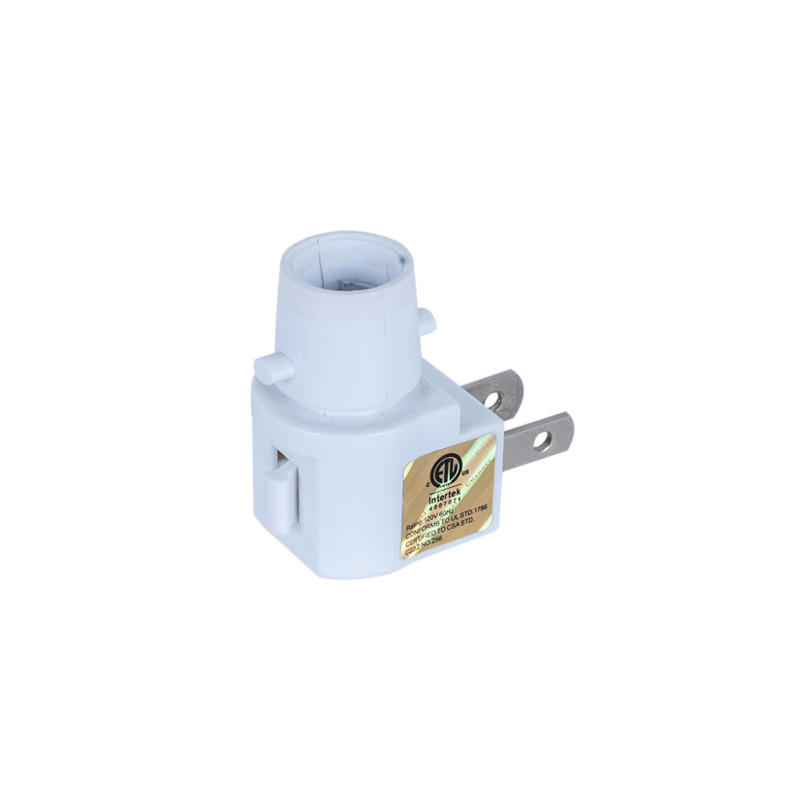 Night Light socket UL ETL approved 110V US socket lampholder for wall lamp