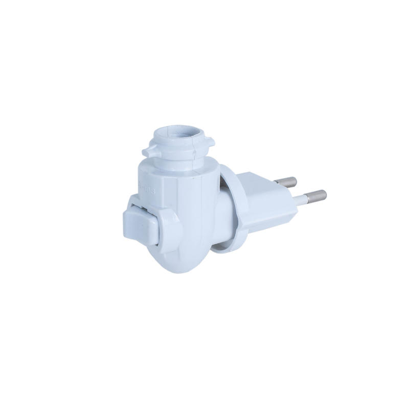CE ROHS approved switch lamp socket wall lamp night light plug holder 220V