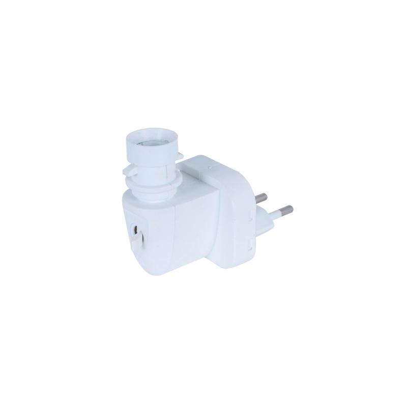 CE ROHS E14 lamp holder socket Europe electric plug 220-240V for night light rotary avaliable