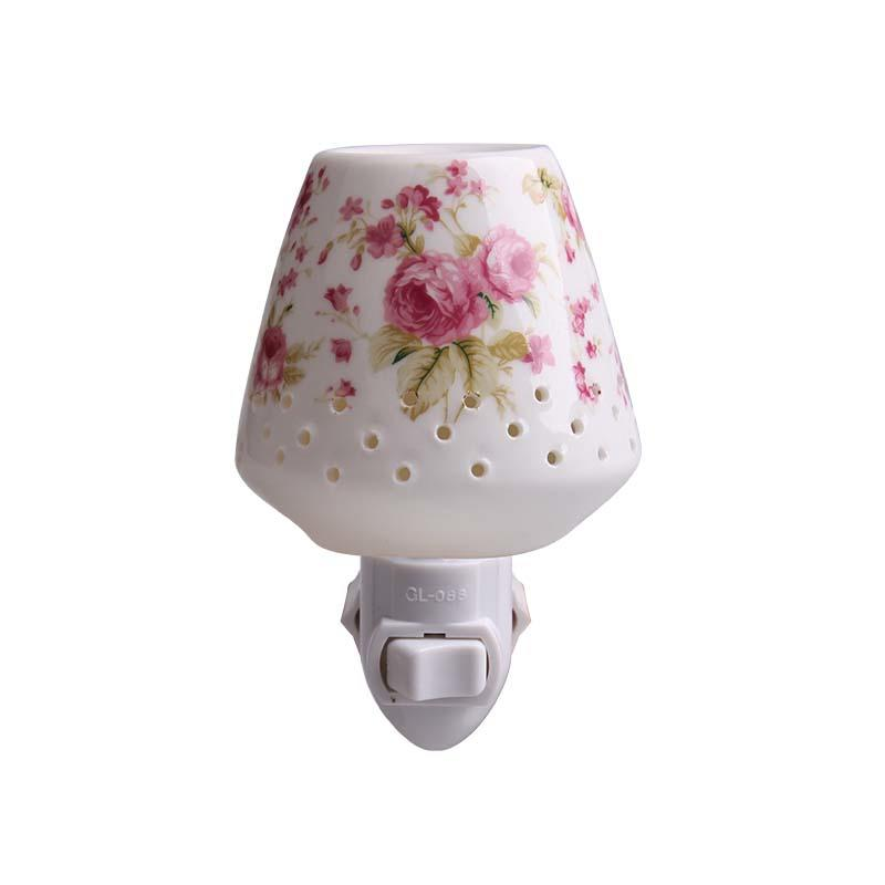 AROMA ETL CE ROHS fragrance porcelain light switch wall NIGHT LIGHT CHAOZHOU FACTORY