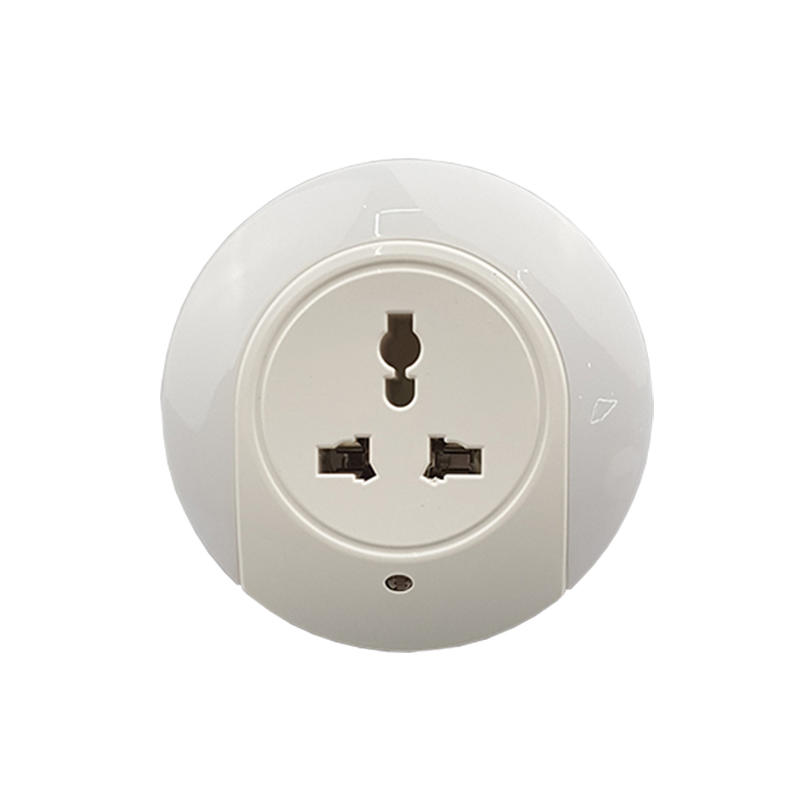 LED Night Light with Universal socket Dusk to Dawn sensor plug in night light   bedside lamp
